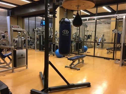 The fitness center morse college